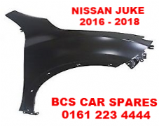 NISSAN  JUKE   FRONT WING   DRIVERS SIDE  O/S    2014 - 2018     NEW